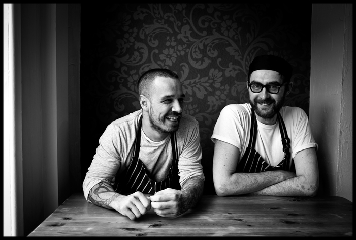 Gary Usher and Luke Richardson from Wreckfish, Liverpool