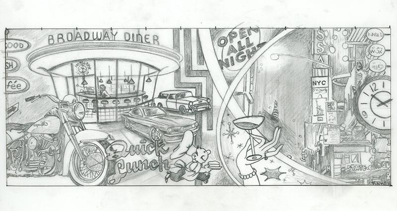 Broadway Diner Study