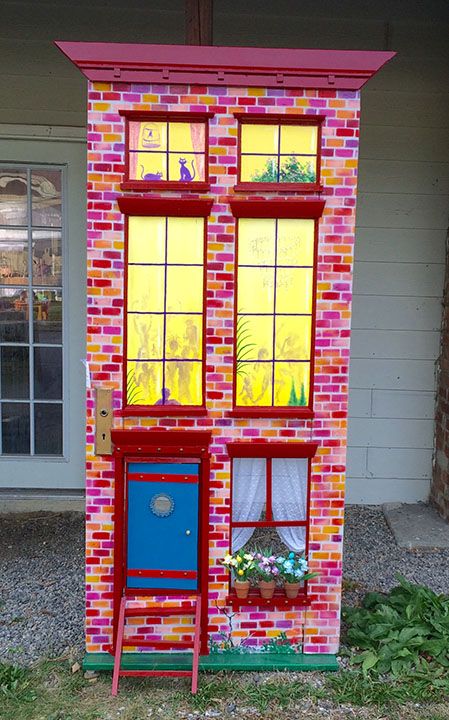 Brickhouse door 2015