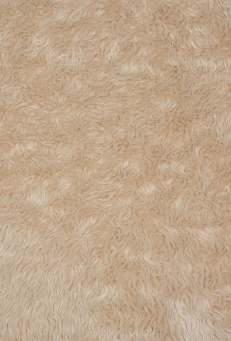 Gobi fur in cream white