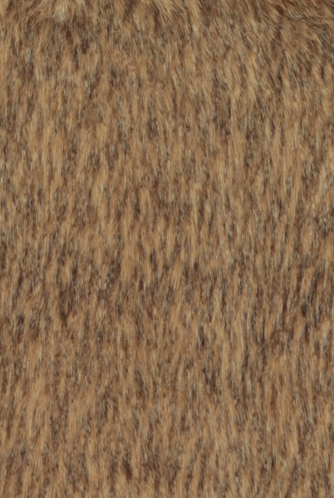 Coyote fur in brown/beige