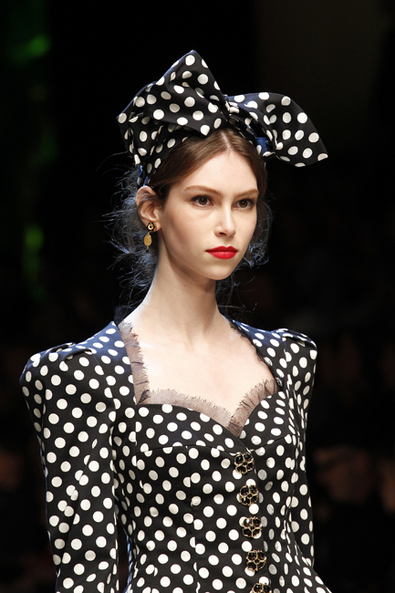 Fashion by Dolce & Gabbana, via vogue.com