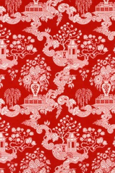 Big Spring by Robert Allen Fabrics in Lacquer Red