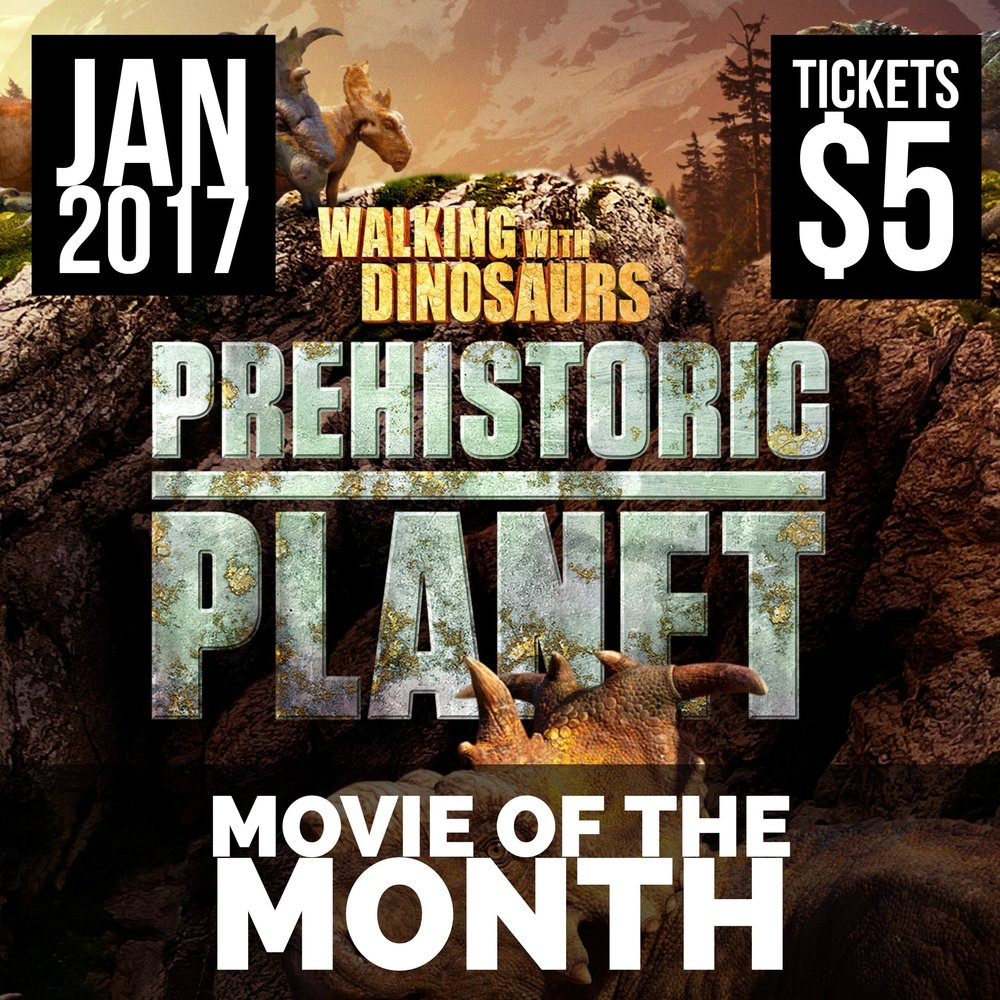 Walking With Dinosaurs Prehistoric Planet Movie of the Month