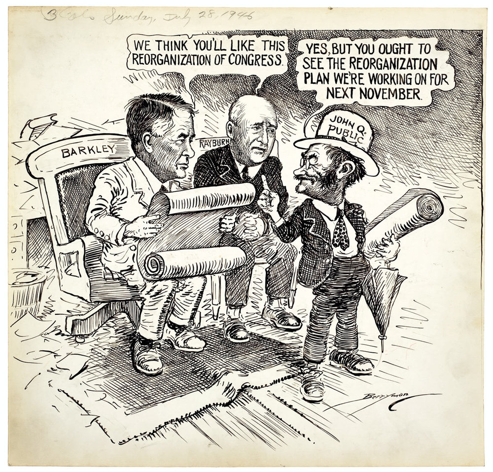 Source: Comic by Berryman via National Archives and Records Administration