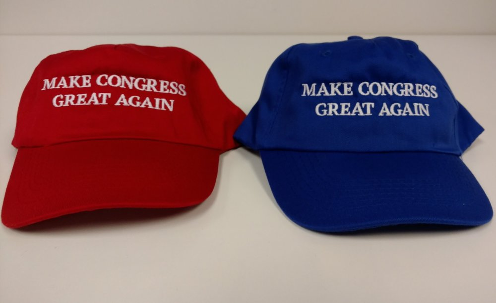 Make Congress Great Again hats.jpg