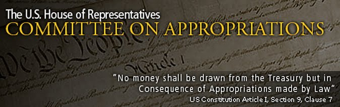 Image source:  House Committee on Appropriations