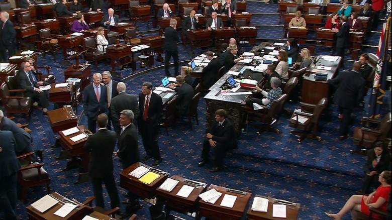 senate floor with sens.jpg