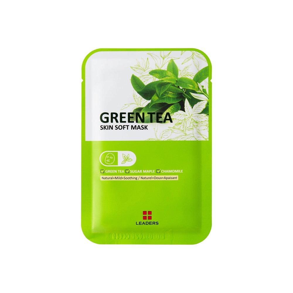 Leaders_Labotica Green Tea Skin Soft Mask_pouch_front.jpg