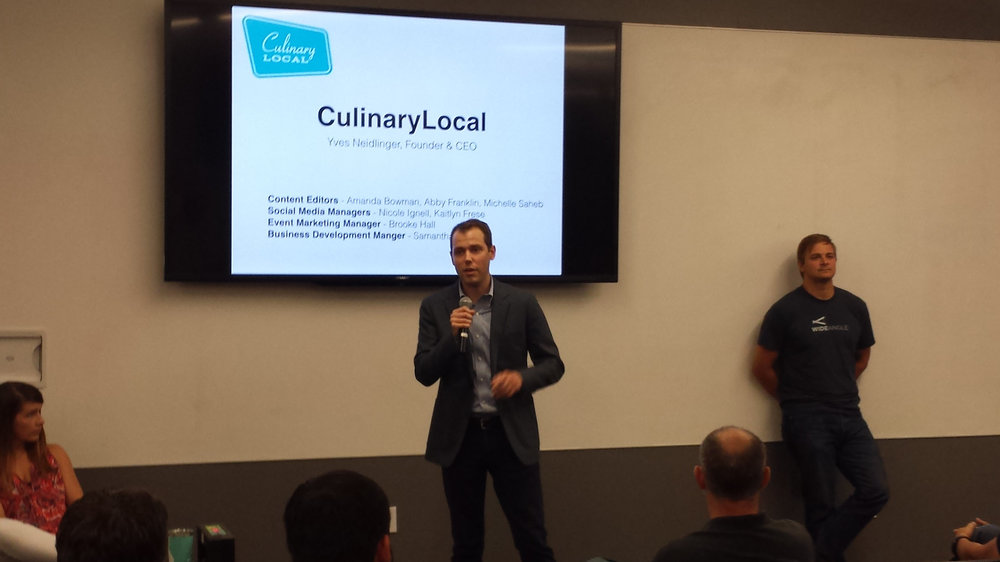 Had a great time volunteering with Atlanta Tech Village and pitching Foster Ideas.