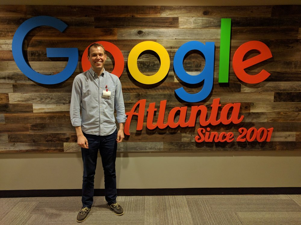 Thank you, to our dedicated account manager, for inviting Foster Ideas to Google for our quarterly meeting.