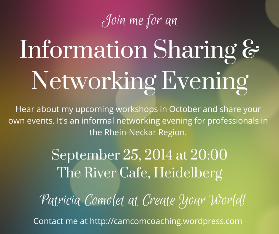 Networking Evening Invite Sep 25