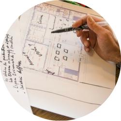 BÉNÉFICIEZ DE MÉTHODOLOGIES INNOVANTES qui ont fait leurs preuves, pour co-développer, tester et planifier votre projet et assurer son succès