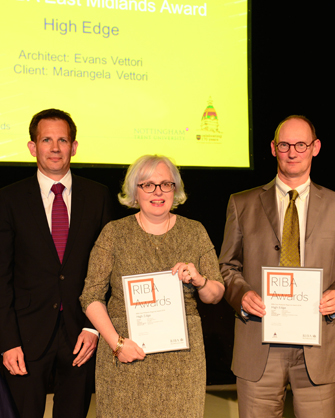 AWARD: RIBA East Midlands Award Winners DATE: 2014 BUILDING: High Edge, Matlock