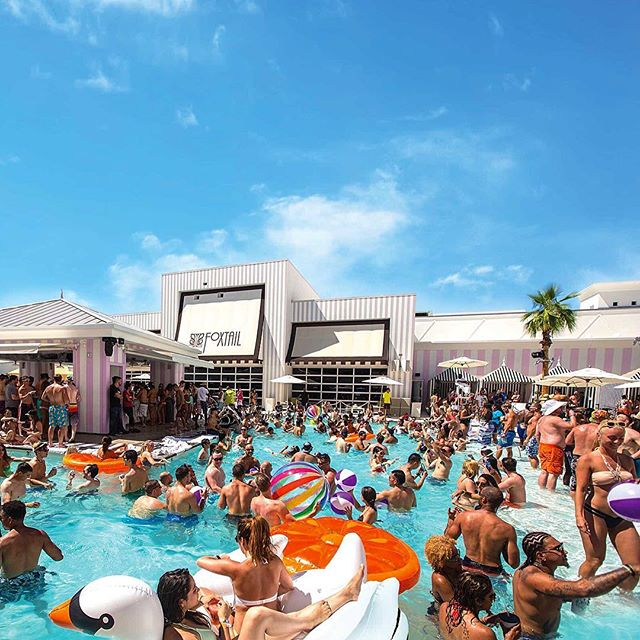 EDC Vegas weekend is upon us - make sure you try this pool! _____________________________________________  Electro dance music reserved at it's finest - tap link in our bio for your availability... _____________________________________________ #Vegas #SLS #FoxtailPool #daybeds #cabana #EDC #incentivetravel #PhotoOfTheDay #PoolParty #Happy #Beautiful #Like #Fun #Smile #Friends #Instadaily #corporatetravel #Instalike #Cool #Style #Sun #Instacool #Shoutout #Amazing  #luxuryretreat #LuxuryTravel #LivingTheDream #TrulyVisit #BusinessAsUsual 🎉