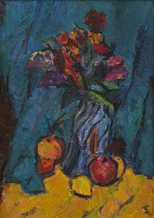 Still Life with Flowers & Fruits (2008)