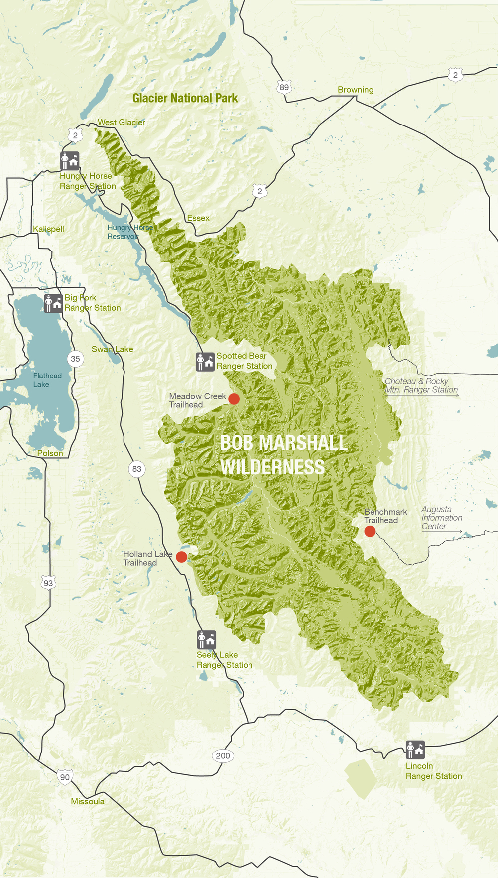 US Forest Service Motor Vehicle Use Maps Now Available Gaia GPS - Us forest service maps montana