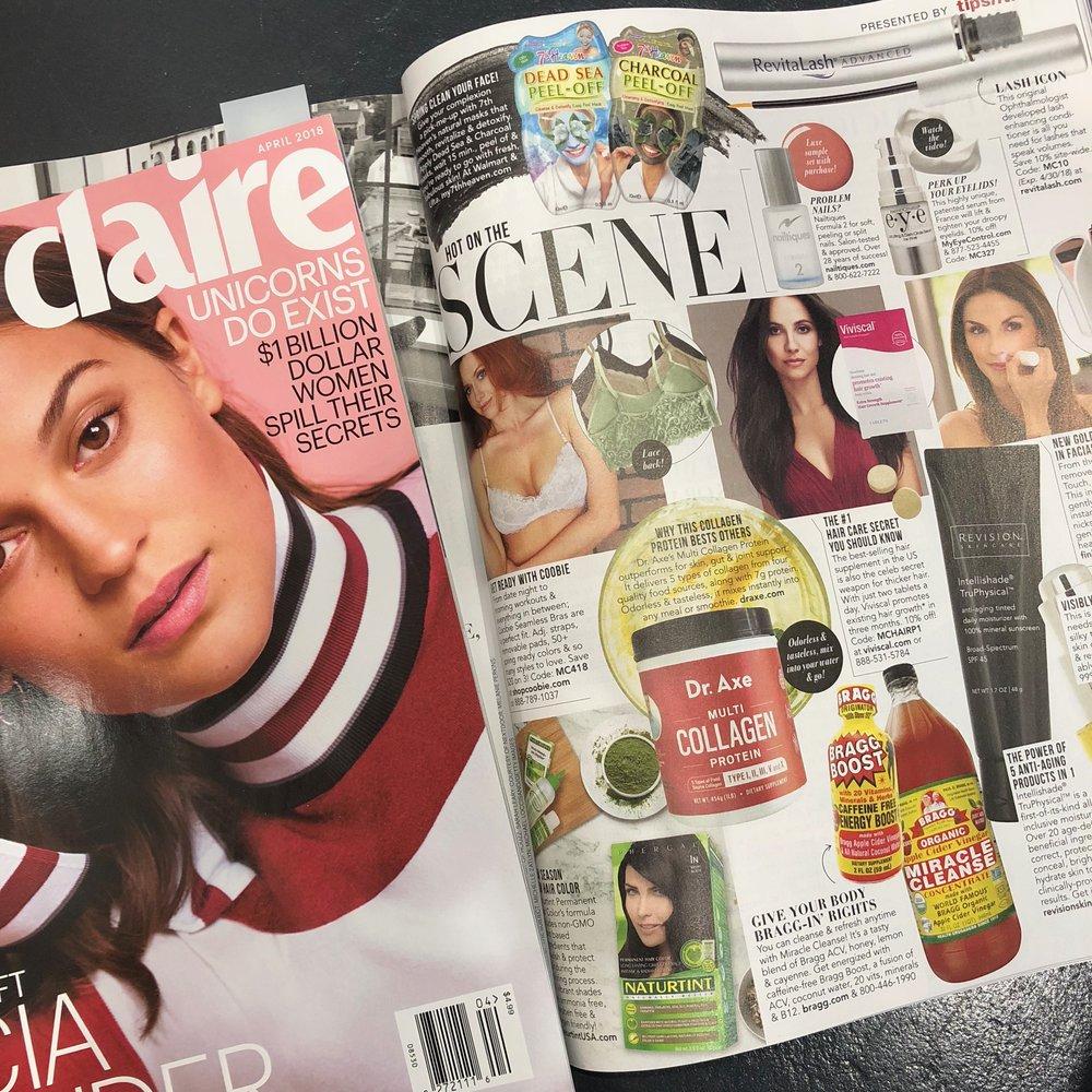 Marie Claire, April 2018