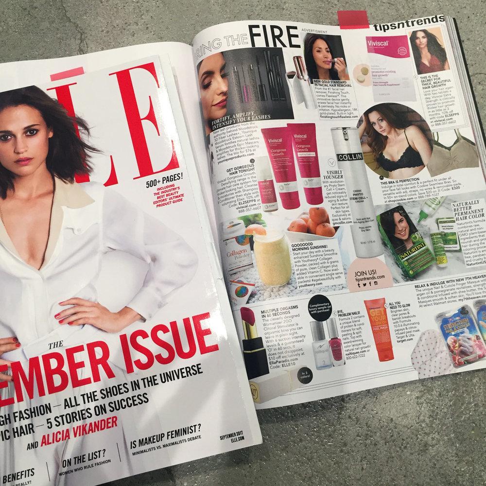 Elle, September 2017