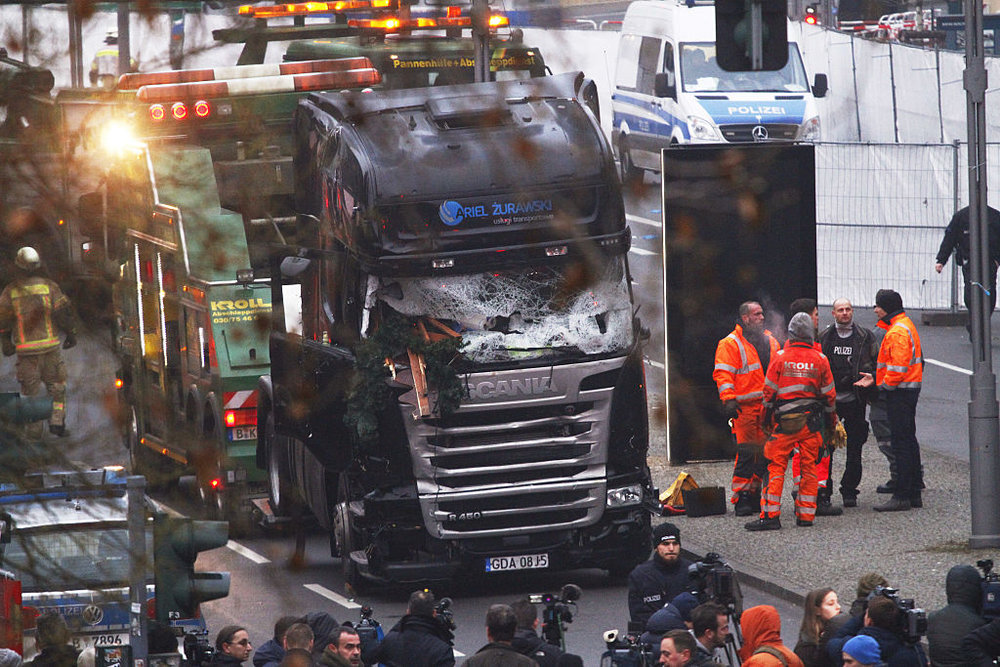 Il camion dell'Attentato di Berlino - Photo by Michele Tantussi/Getty Images News / Getty Images