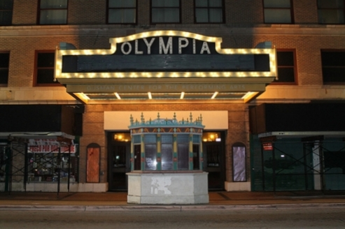 Il Cinema Olympia, Los Angeles.