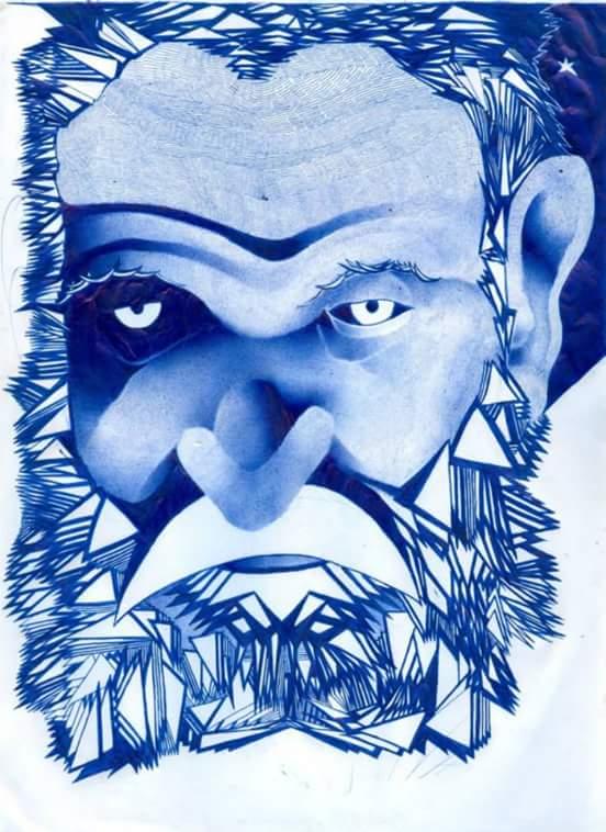 Ritratto del leggendario ladro di banche Nachman Farkash, di Ori Zindel