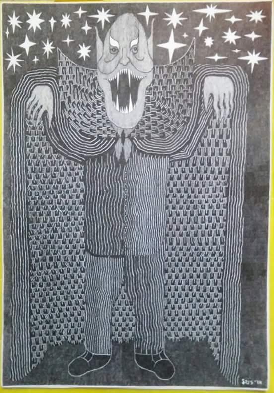 Vampiro nella notte, di Ori Zindel
