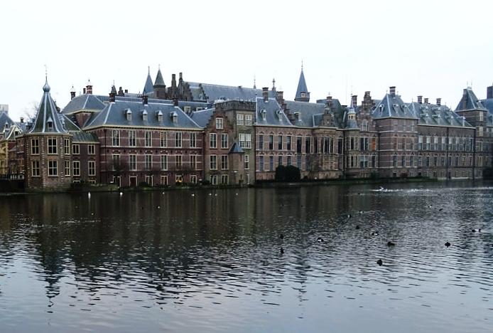 """Il """"Binnenhof"""" sede del governo e del parlamento olandese. Foto: Sjaak Kempe, licenza CC 2.0"""