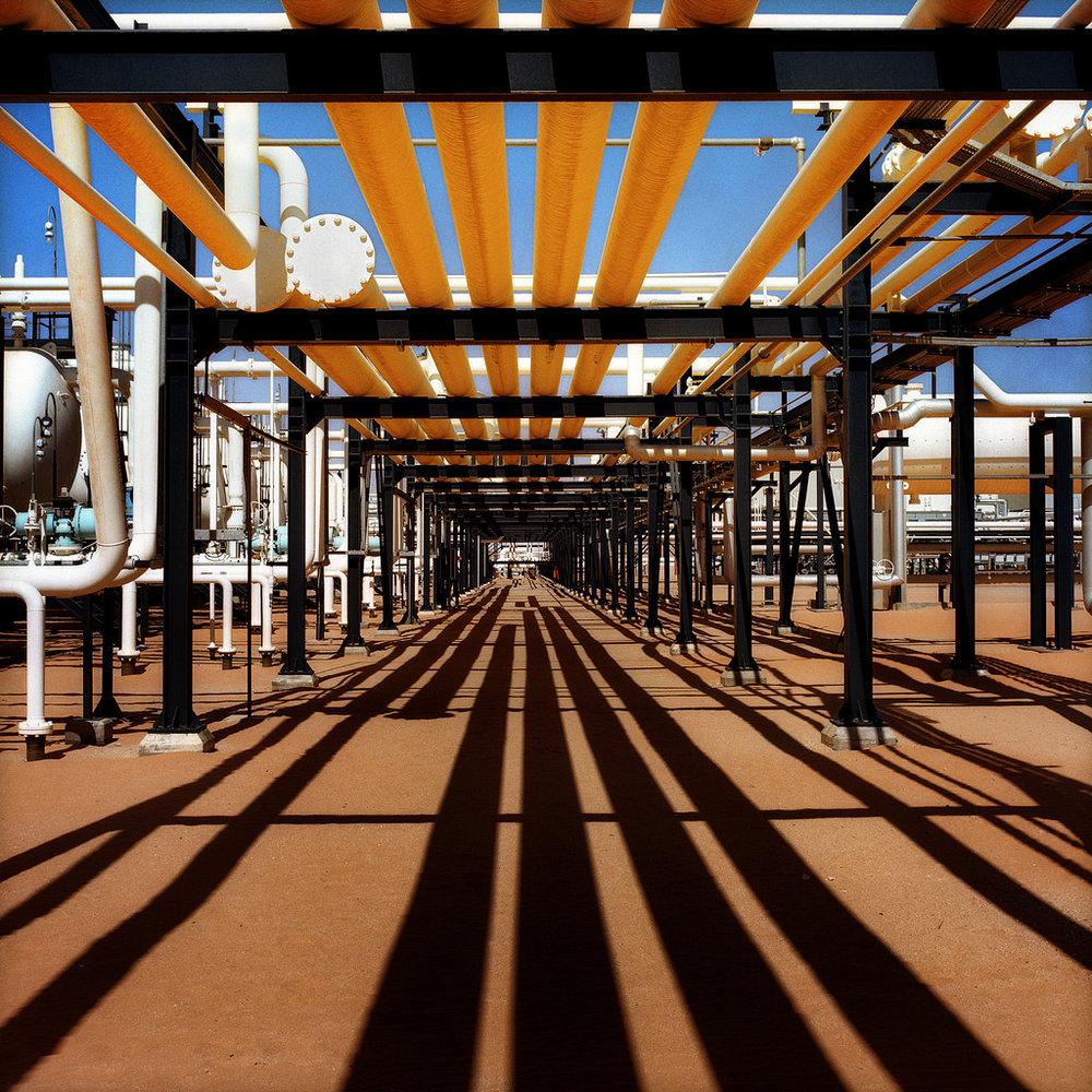Impianto di raffinazione della Repsol in Libia. Foto: Repsol, licenza CC 2.0