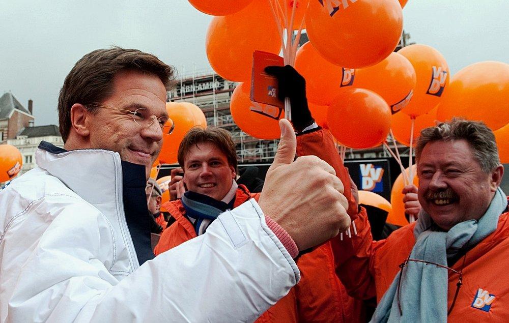 Mark Rutte, riconfermato Primo Ministro dei Paesi Bassi. Foto: Jos van Zetten Licenza: CC 2.0