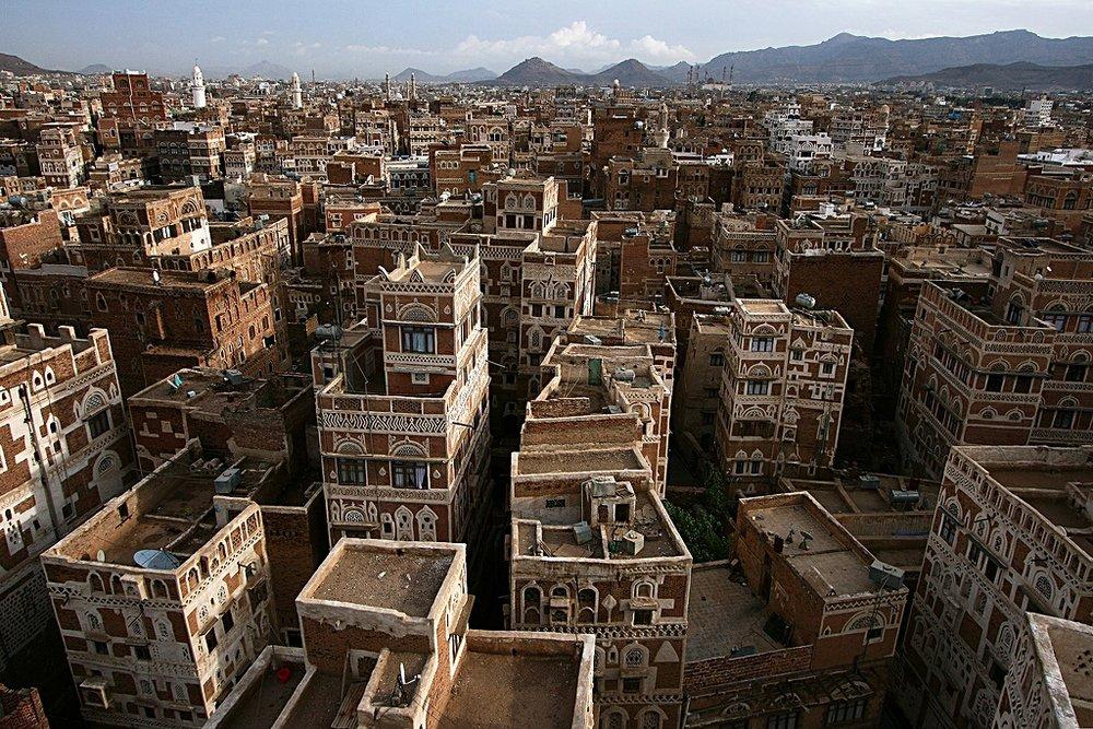 Sana'a, capitale dello Yemen ed ora in mano ai ribelli Houthi. Fonte: Richard Messenger Licenza: CC 2.0