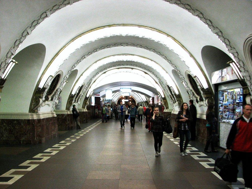Ploschchad Vosstaniya, San Pietroburgo, dove è stato rinvenuto il secondo ordigno lunedì pomeriggio. Foto: reibai Licenza: CC 2.0