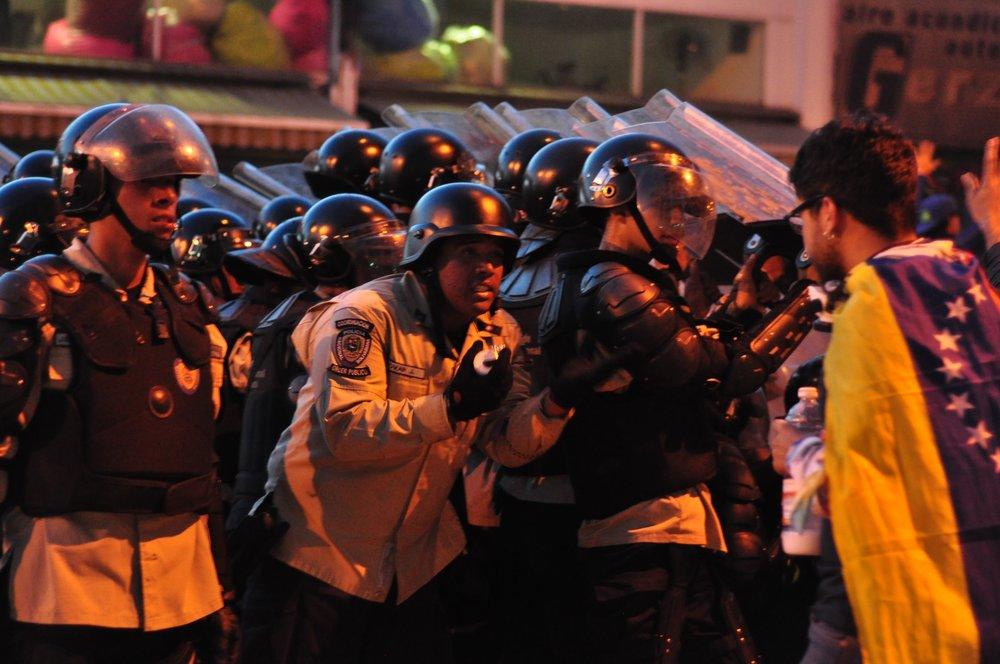 Proteste di Piazza in Venezuela. Foto: AdresAzp Licenza: CC 2.0