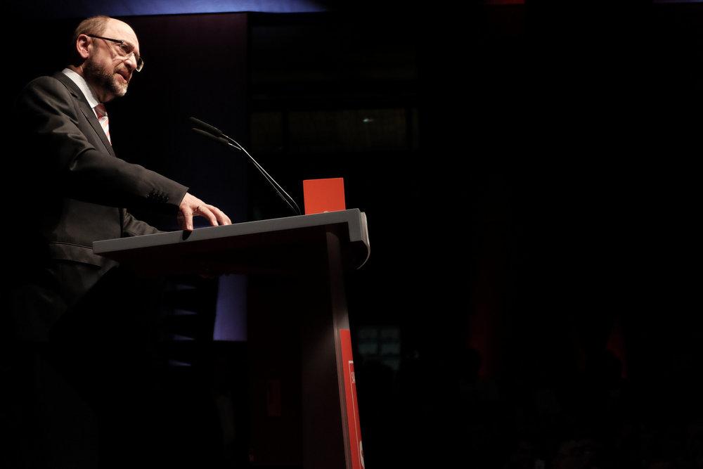 Martin Schulz, candidato cancelliere della SPD. Foto: SPD Saar Licenza: CC 2.0