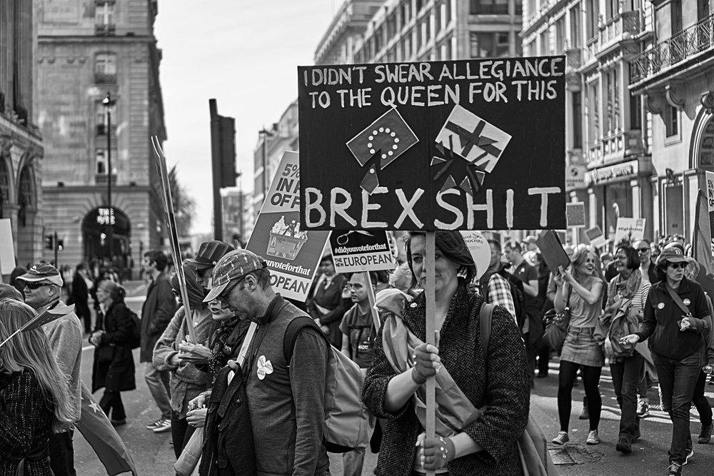 La Marcia per l'Europa nel centro di Londra. Foto Anastos Kol Licenza: CC 2.0