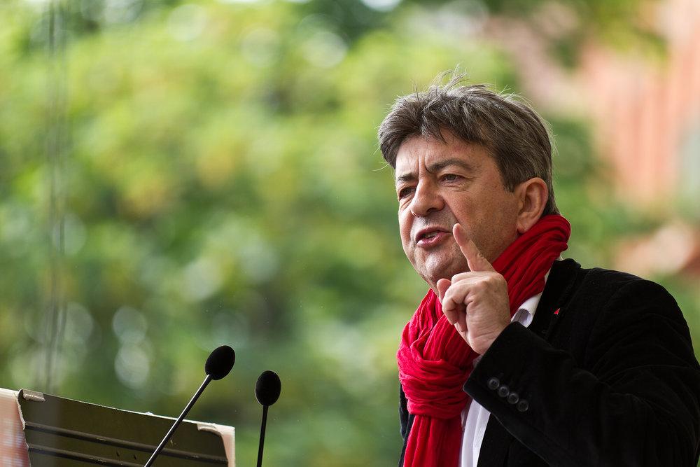 Jean-Luc Mélenchon, l'outsider che rischia di far saltare il banco alle elezioni presidenziali francesi del 2017. Foto: Pierre-Selim Licenza: CC 2.0