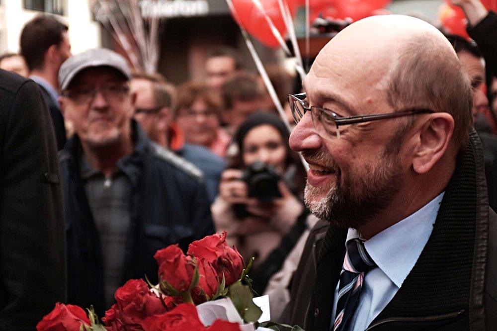 Il candidato cancelliere per i socialdemocratici Martin Schulz. Foto: SPD Saar Licenza: CC 2.0