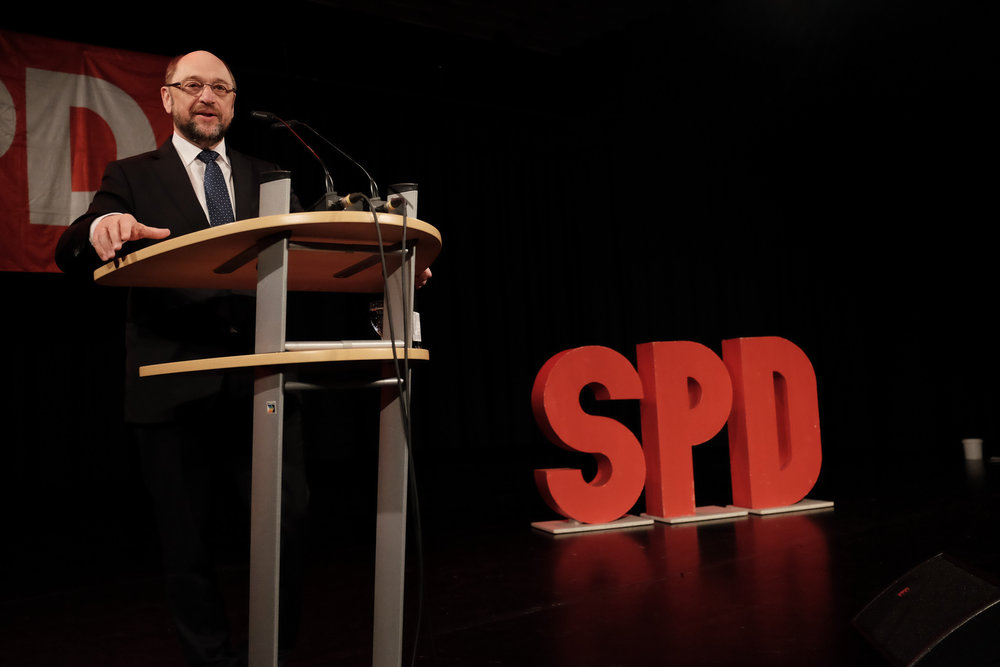 Martin Schulz, candidato Cancelliere per la SPD.Foto: SPD Saar Licenza: CC 2.0