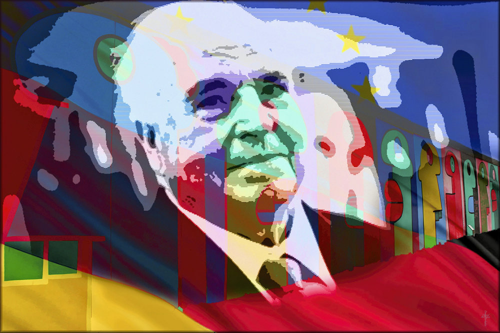 Helmut Kohl - Colors of a Dream di Daniel ArrhakisLicenza: CC 2.0