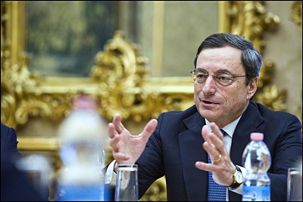 Il Presidente della BCE, Mario Draghi. Foto: European Parliament Licenza:  CC 2.0