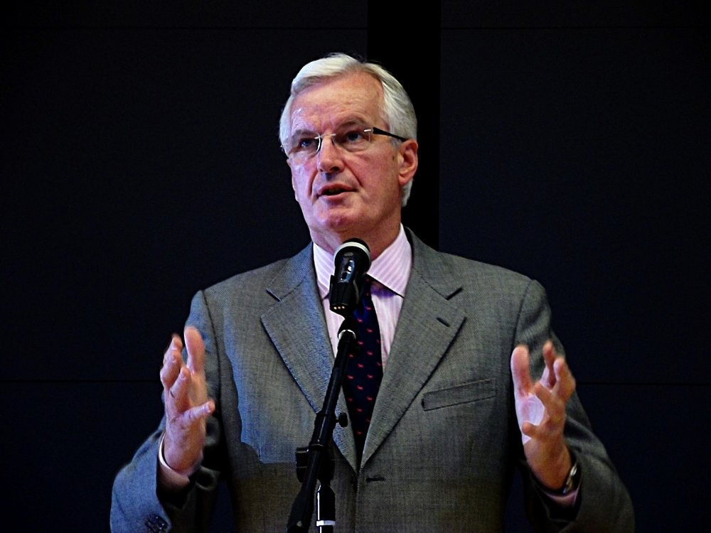 Michel Barnier, il capo-negoziatore europeo per la Brexit. Foto:Piotr DrabikLicenza: CC 2.0