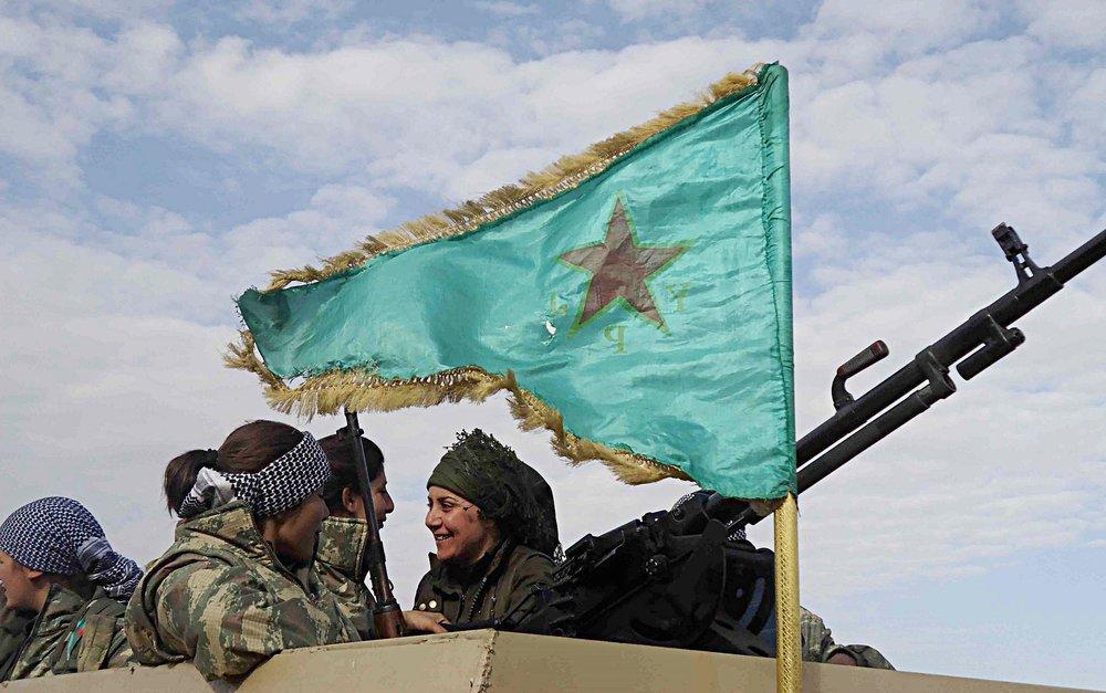 Combatttenti dell'YPG, le milizie curdo-siriane, di stanza nel Cantone di Afrin. Il futuro di questo territorio è al centro di un possibile accordo fra Russia e Turchia nei prossimi colloqui di Astana del 10 luglio. Foto: KurdishstruggleLicenza: CC 2.0