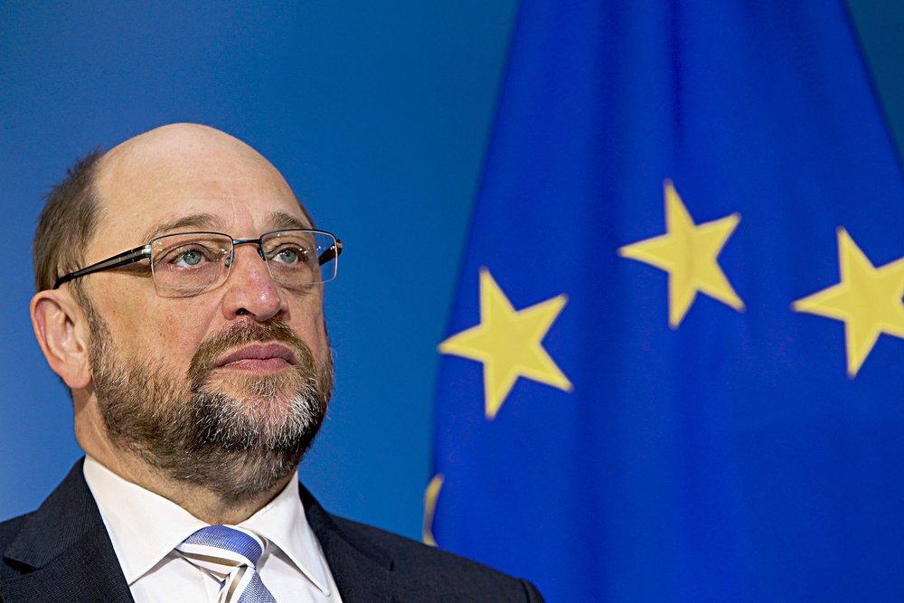 Martin Schulz (SPD), candidato cancelliere alle elezioni del 24 settembre del 2017. Foto: Martin Schulz Licenza:  CC 2.0