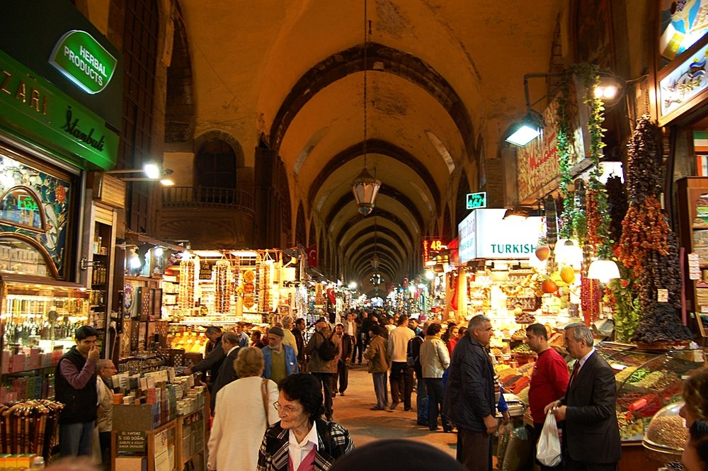 Il Mercato delle Spezie di Istanbul, uno dei principali simboli dei prodotti agricoli turchi su cui il paese lotta per l'inclusione all'interno dell'Unione Doganale con l'Europa. Foto: Justin Lehman Licenza:  CC 2.0