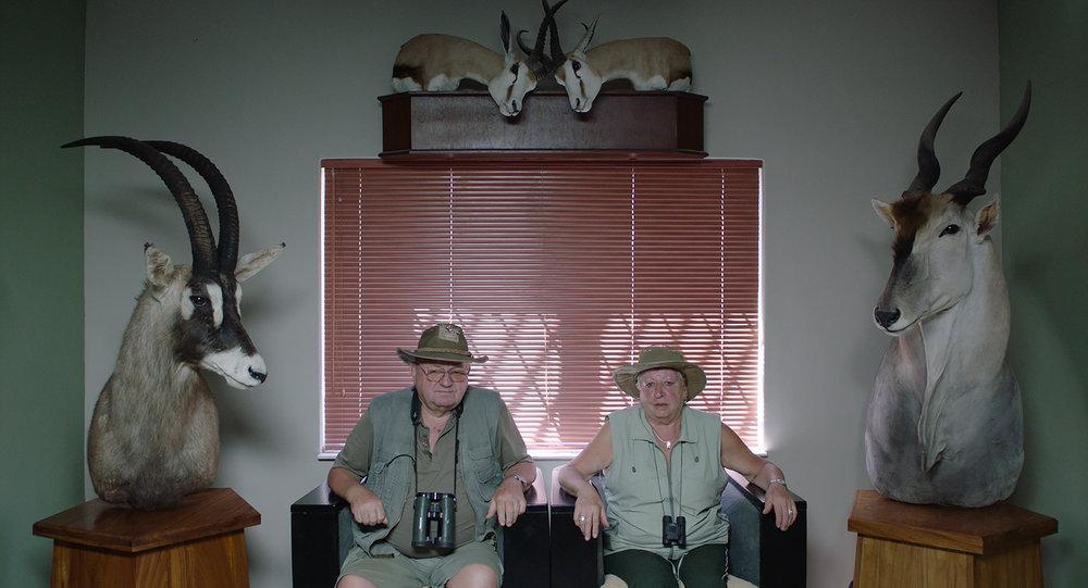 Una delle scene di Safari. (Ulrich Seidl Filmproduktion)