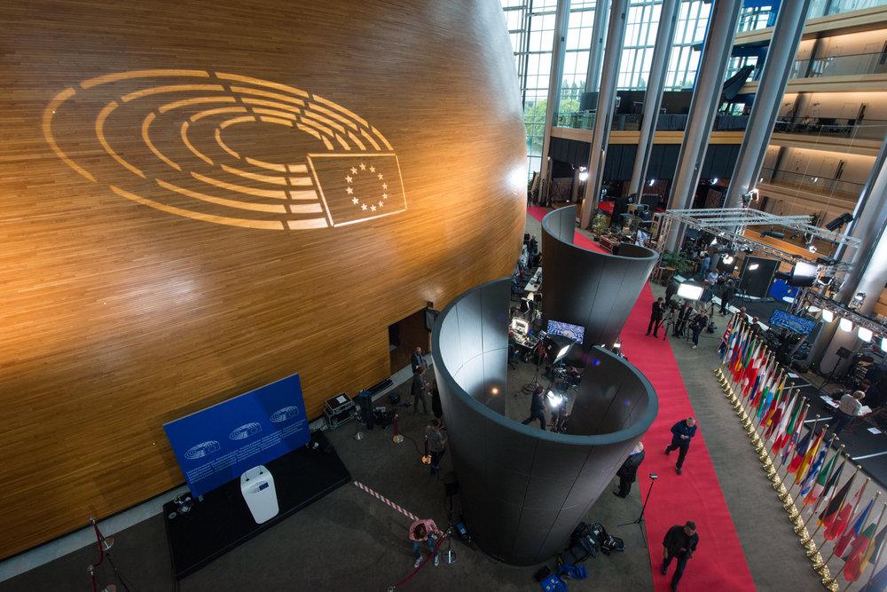 Il Parlamento Europeo, il Presidente della Commissione per il Discorso sullo Stato dell'Unione del 2017. Foto: European Parliament Licenza:  CC 2.0