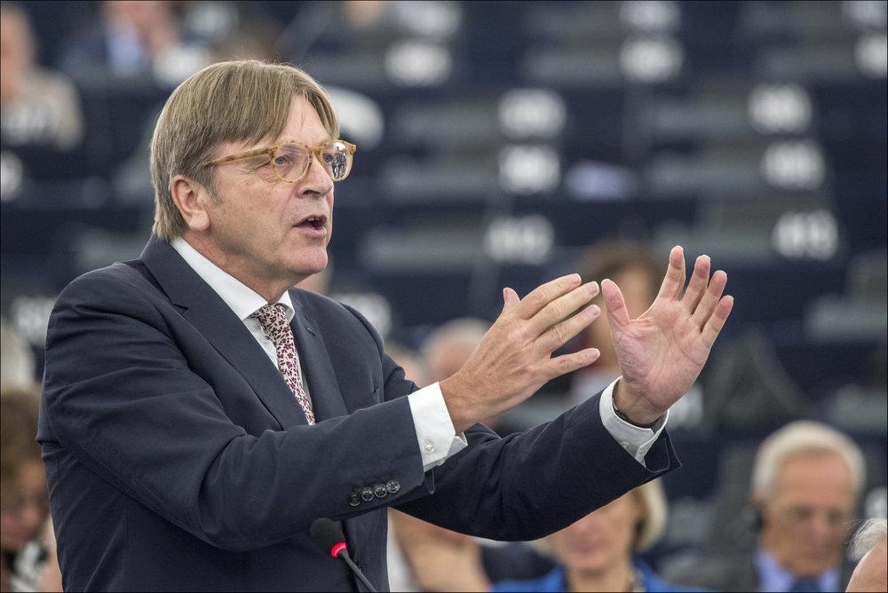 Guy Verhofstadt, ALDE, liberali europei