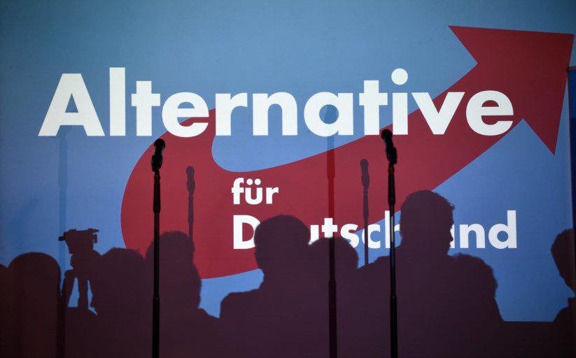 La conferenza stampa di Alternativa per la Germania. Foto:vfutscherLicenza: CC 2.0