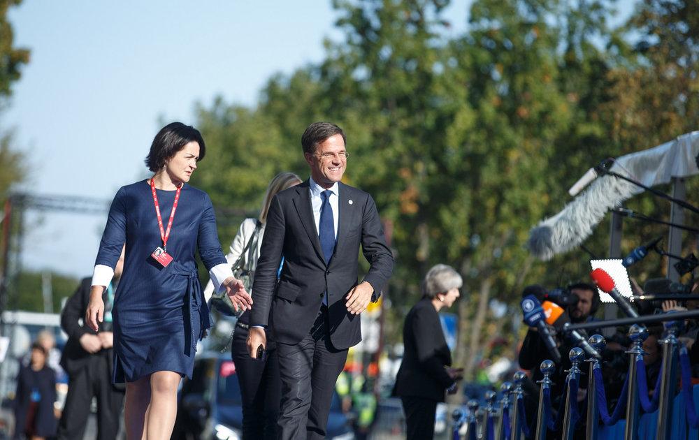Il Primo Ministro olandese Mark Rutte durante l'apertura del semestre di Presidenza europea dell'Estonia. Foto:EU2017EE Estonian PresidencyLicenza: CC 2.0