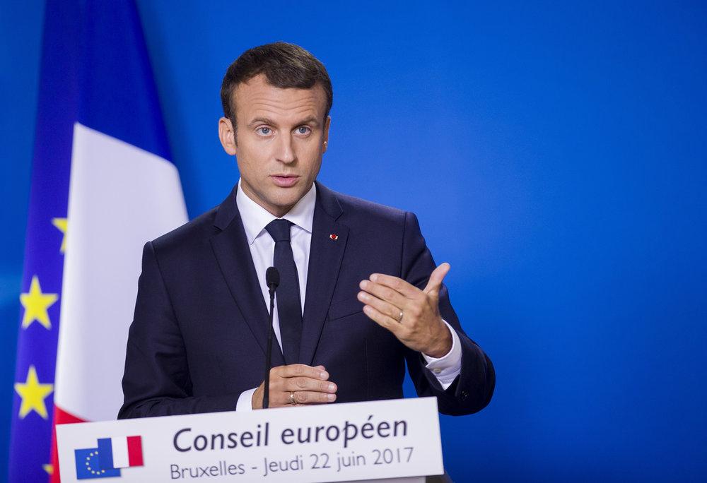 Emmanuel Macron, il protagonista del Consiglio d'Europa di ottobre. Foto: European Council Licenza:  CC 2.0